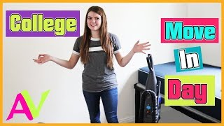 MY COLLEGE MOVE iN DAY / Aud Vlogs