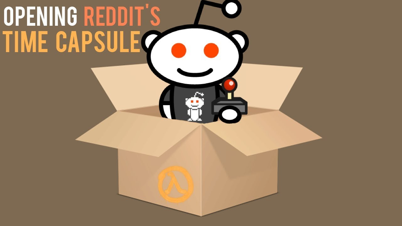 Opening Reddit's Gaming Time Capsule (2013 - 2018)