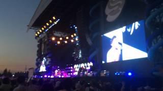サマーソニック2015大阪のファレルウィリアムスのライブです‼︎