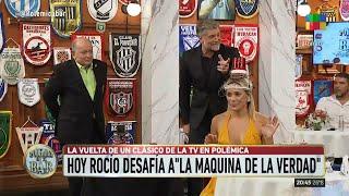 """VIDEO Rocío Oliva desafió a """"la máquina de la verdad"""" y se incomodó con una pregunta"""