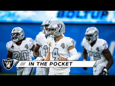 Derek Carr's Decision-Making Has Been Winning Edge & Finding Ways To Win on the Road | Raiders