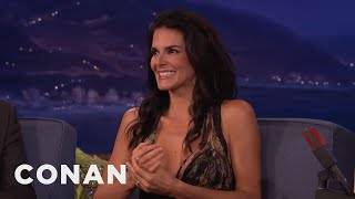 Angie Harmon: I Have No Butt  - CONAN on TBS