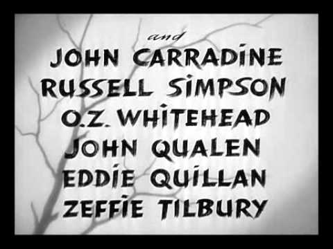 The Grapes Of Wrath 1940   TITLE SEQUENCE
