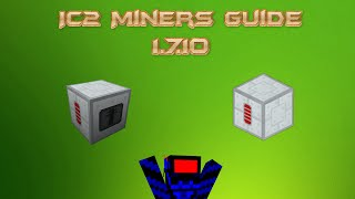 IC2 Miner & Advanced Miner Guide