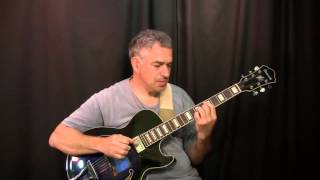 Slip Away, Pat Metheny Group, solo guitar - HD lesson available to download!