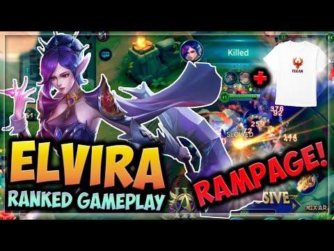 ⚔️RAMPAGE ELVIRA!!⚔️ HEROES EVOLVED - ELVIRA BUILD | RANKED GAMEPLAY | NEW HERO