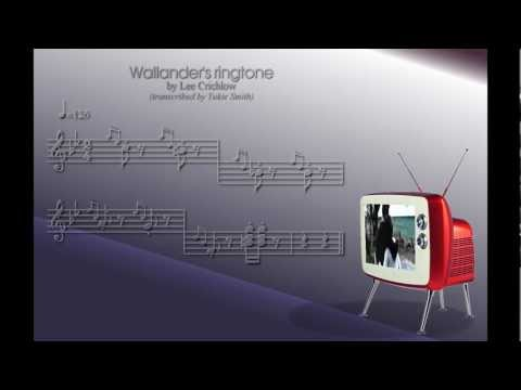Wallander's ringtone by Lee Crichlow - transcribed by Yukie Smith