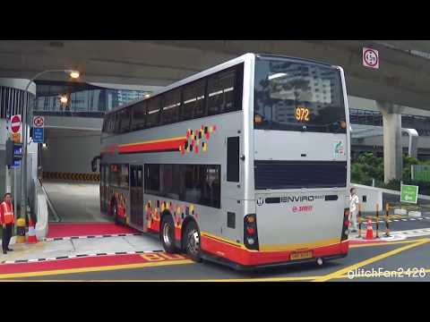 First Day of Operations - Bukit Panjang Integrated Transport Hub