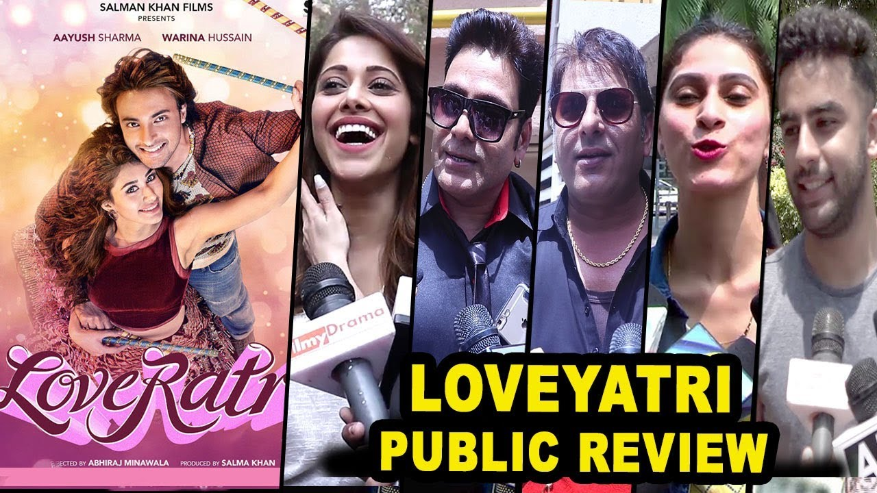 Loveratri Hit or Flop Public Review - Salman Khan Film ...