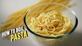 How To Boil Pasta   Learn To Cook Perfect Pasta At Home   Basic Cooking
