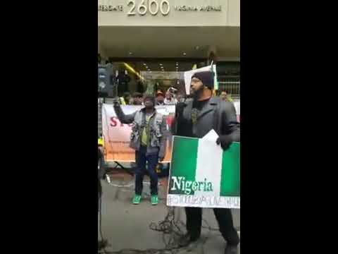 Uncle Harry Baba Speaks @ National Anti-Slave Trade Rally in DC 12.12.2017