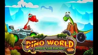 Dino World Speed Car Racing - Tiny lab Racing Games - Android Gameplay Video