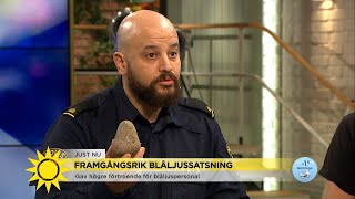 """Polisen: """"Skulle ni kunna berätta för mina barn att Martin blivit träffad av e… - Nyhetsmorgon (TV4)"""