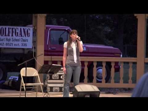 Rachel Singing God Bless America HD