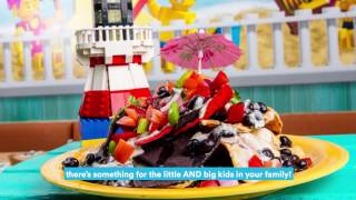 LEGOLAND Beach Retreat Top 5: Sandy's Castle Restaurant