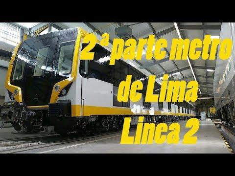 Tramo 2 de la linea 2 del metro de lima