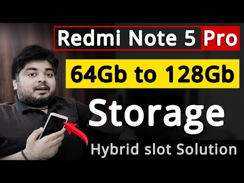 Redmi Note 5 Pro | Use Dual Sim & SD Card Simultaneously | Step by Step guide by Gizmo Gyan in Hindi