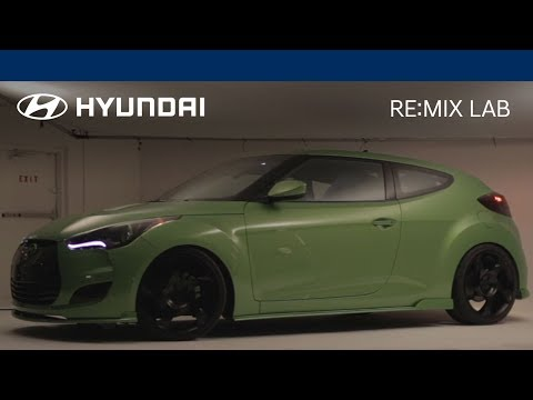 Introducing The Gaming Veloster | RE:MIX LAB | Hyundai