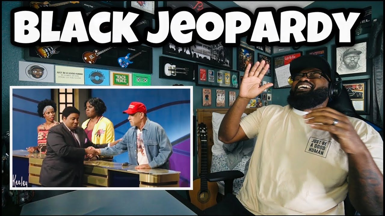 Download Black Jeopardy With Tom Hanks - SNL   REACTION