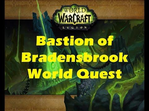 WoW Legion: Bastion of Bradensbrook Val'sharah world quest playthrough (Beta 7.0.3)
