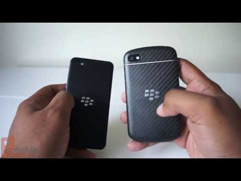 BlackBerry Q10 vs. BlackBerry Z10 - what