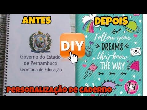 DIY: FICHÁRIO PERSONALIZADO BARATO E FÁCIL from YouTube · Duration:  20 minutes 14 seconds