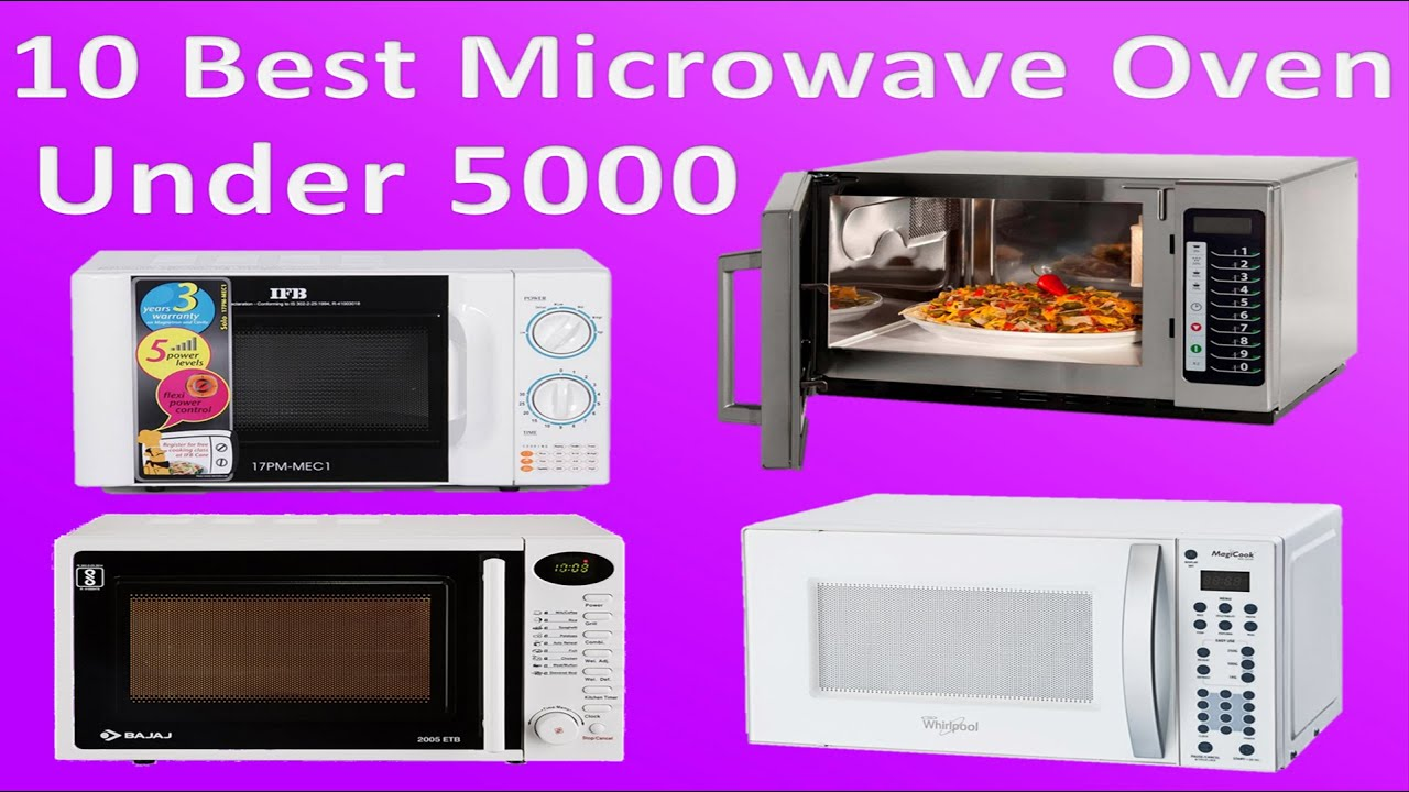 10 Best Microwave Oven Under Rs 5000 In India 2018 Top