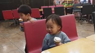 2019년 10월 18일 유성 홈플러스 롯데리아 아이스…