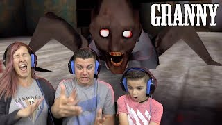GRANNY CAN CRAWL UNDER THE BED!! (SUPER CREEPY)