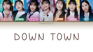 All rights go to Up Front Productions ➢ Artist: Juice=Juice ➢ Album: 14th single ➢ Song: DOWN TOWN • Lyrics/作詞: Ito Ginji / 伊藤銀次 • Composer/作曲: ...