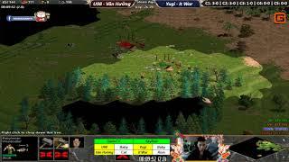 C3T2 | 2vs2 Random | U98 - Văn Hưởng vs Yugi - It War | Ngày 17-02-2019