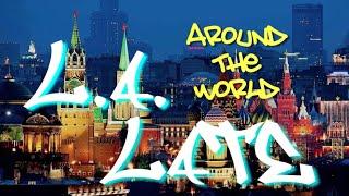 la late around the world