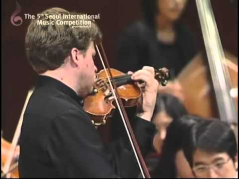 "2009 Seoul International Music Competition ""2nd Prize_Andrey Baranov""(1st Mov)"