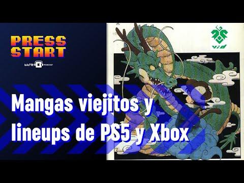 Mangas y animes retro y los juegos de lanzamiento de las nuevas consolas [Press Start 027]