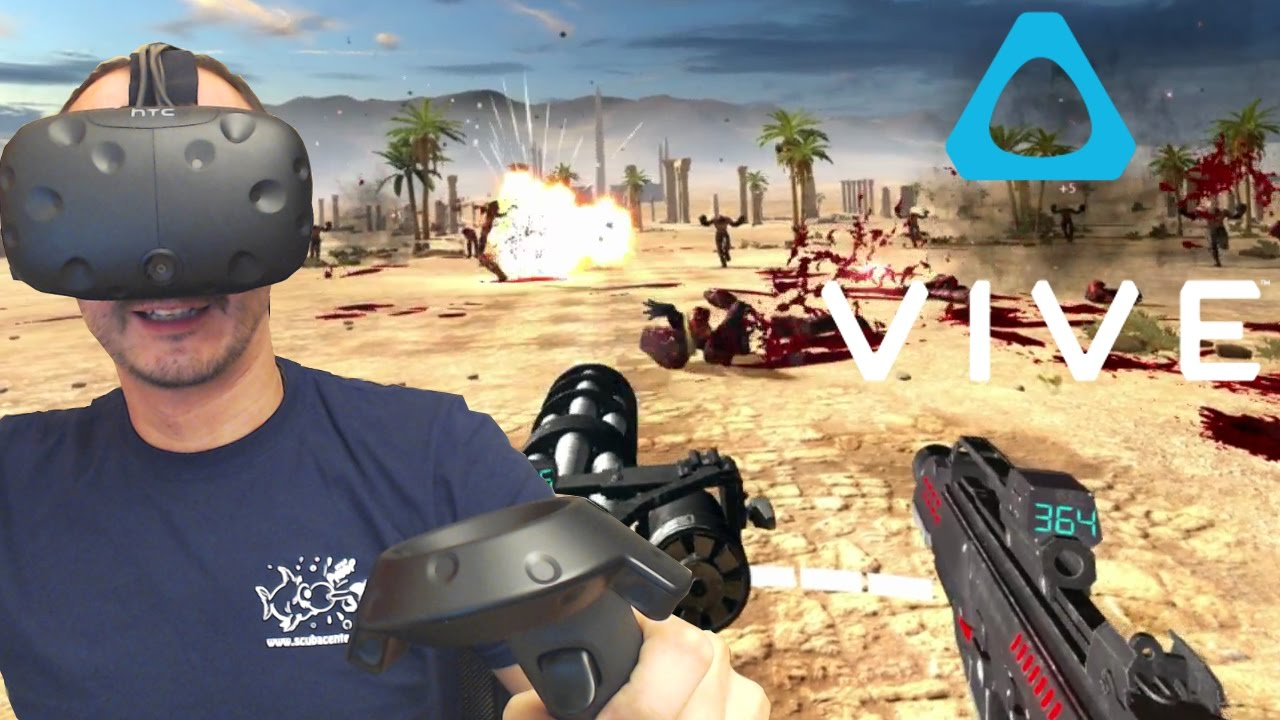 Download SERIOUS SAM VR: THE LAST HOPE - HTC VIVE - GAMEPLAY - VR - HD