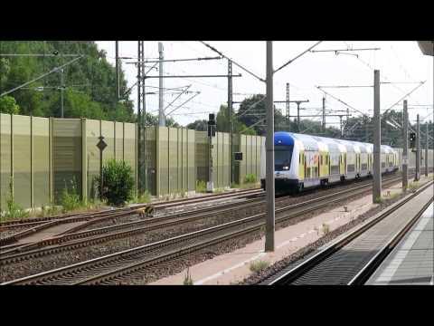 Eisenbahn TV - Zugverkehr am Bahnhof Winsen (Luhe)