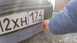 Лада гранта Зашита радиатора за 350 рублей своими руками