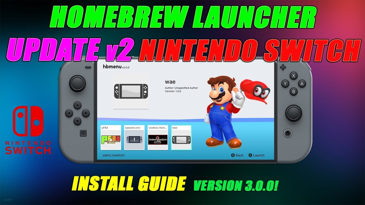switch homebrew guide