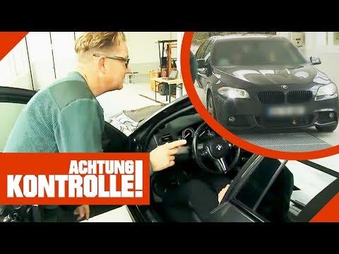 Auffälliger teurer BMW: Was findet der Zoll? | Achtung Kontrolle | kabel eins