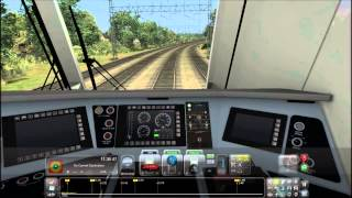 TS2015 HD: Amtrak Siemens ACS-64 620 Leads Northeast Regional Train 171 (New Haven - Philadelphia)
