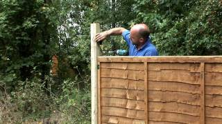 How To Fix Trellis Onto A Fence Panel