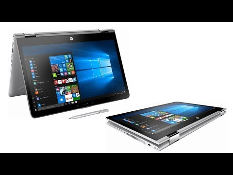 HP Pavilion x360 Convertible 2 in 1 PC - Unboxing and First use - Benchmark