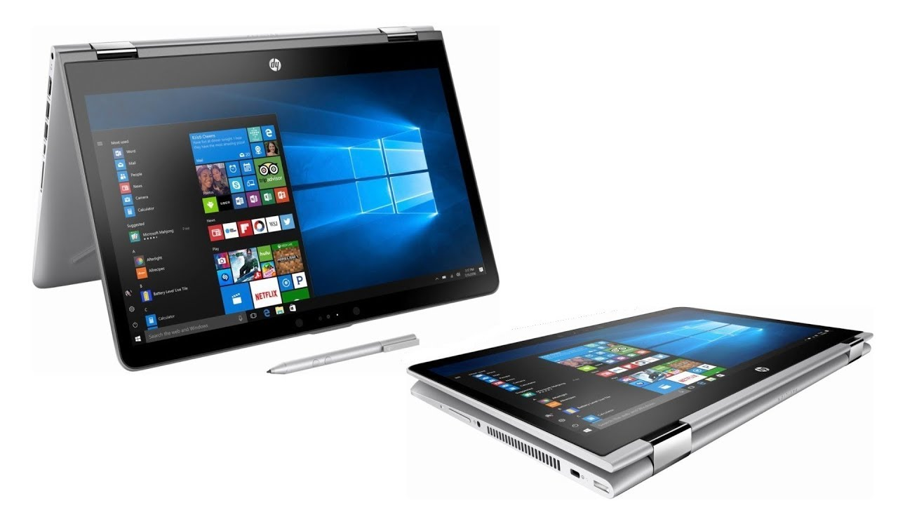 Hp Pavilion X360 Convertible 2 In 1 Pc Unboxing And First Use Benchmark