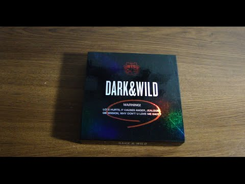 [unboxing]-bts/bangtan-boys--dark-&-wild-(vol.-1)