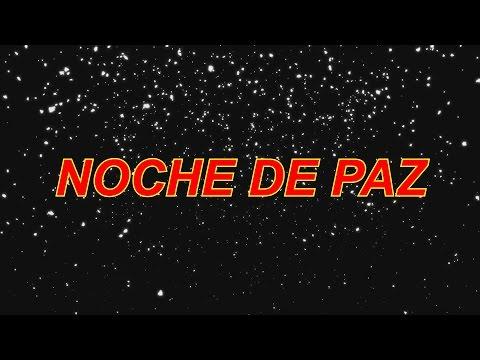 NOCHE DE PAZ - PISTA KARAOKE CON LETRA