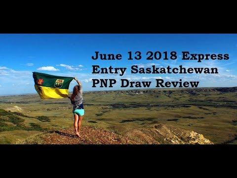 June 13 2018 Express Entry Saskatchewan PNP Draw Review Immigration To Canada Visa