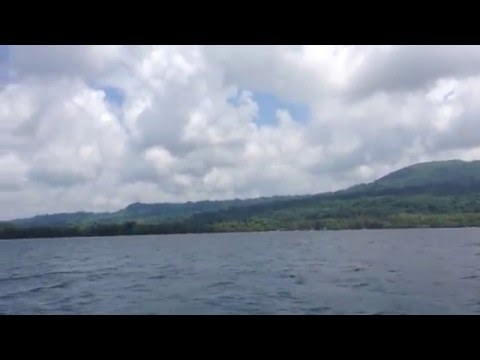 Traveling from Nguna to Efate by Boat (Vanuatu)