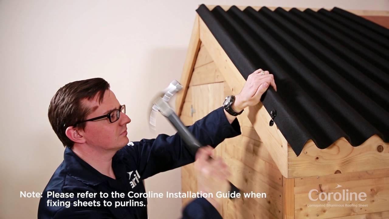 Coroline Bitumen Installation Guide Youtube