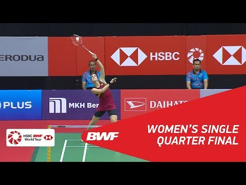 WS | Carolina MARIN (ESP) [4] vs Ying Ying LEE (MAS) | BWF 2018