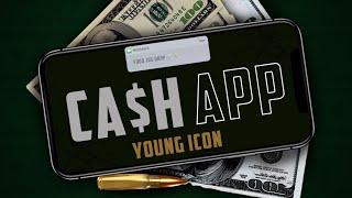 Young Icon - Cash App [Badbreed Sitt'n Riddim] Audio Visualizer